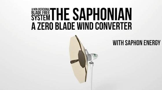 Saphonian-Bladeless-Wind-Converter